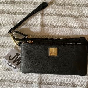 NWT Jason Wu Leather Double Zip Wallet